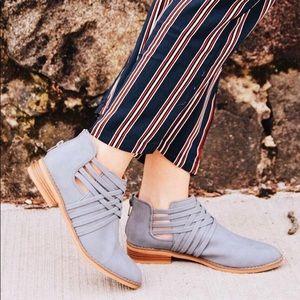 Baby Blue Suede Shoes x Rocket Dog Footwear